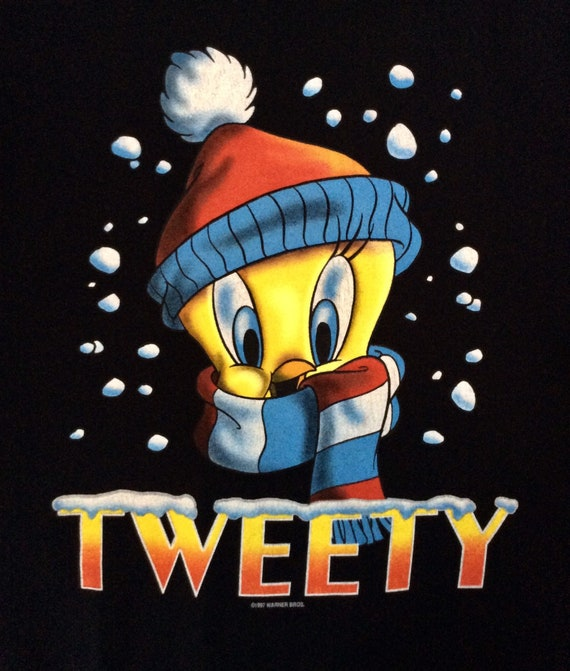 1997 LOONEY TUNES TWEETY Vintage Sweatshirt