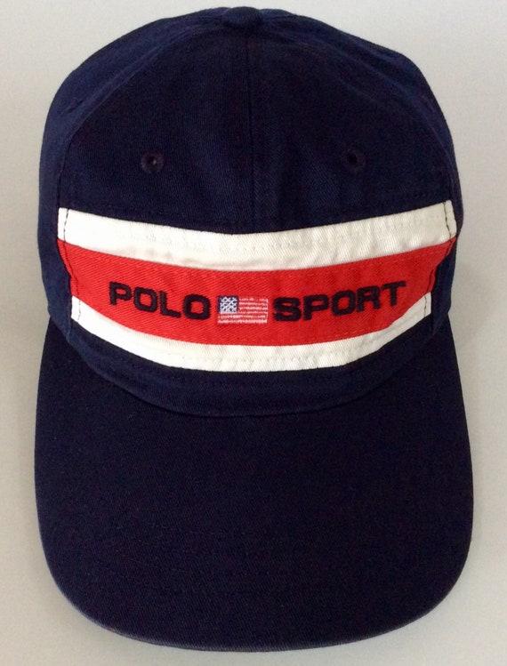 ... RALPH LAUREN Polo Sport Vintage Cap Etsy clearance prices cddd4 94487  ... 11ba7ba45a9c