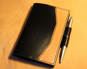 Leather Notebook Cover // Moleskine A6 // English Bridle