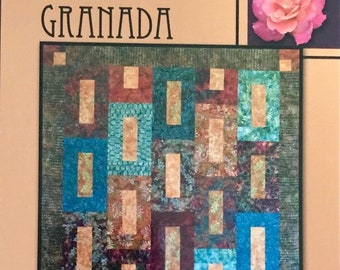 Granada Quilt Pattern From Villa Rosa Designs - Uses Fat Quarters