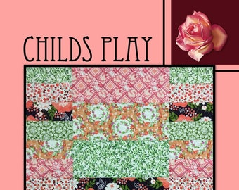 Childs Play Quilt Pattern by Villa Rosa Designs - Uses Fat Quarters