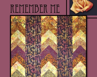 Remember Me Quilt Pattern by Villa Rosa Designs