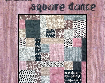 Square Dance Quilt Pattern from Villa Rosa Designs - Uses Fat Quarters