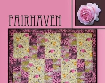 Fairhaven Quilt Pattern by Villa Rosa Designs