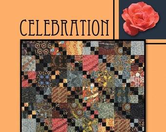 Celebration Quilt Pattern by Villa Rosa Designs - Uses Fat Quarters
