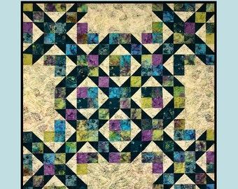 Road Block Quilt Pattern by Villa Rosa Designs