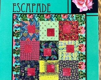 Escapade Quilt Pattern by Villa Rosa Designs - Uses Fat Quarters