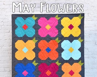 May Flowers Quilt Pattern from Villa Rosa Designs