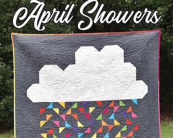 April Showers Quilt Pattern from Villa Rosa Designs