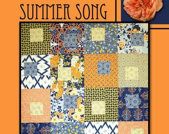 Summer Song Quilt Pattern by Villa Rosa Designs - Uses Fat Quarters