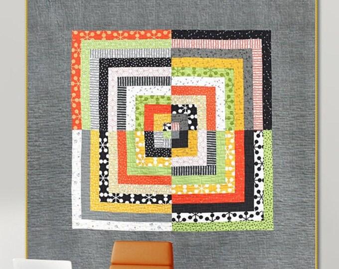 Zen Cabin Quilt Pattern by Zen Chic - ZC ZCQP - Uses 1 Jelly Roll