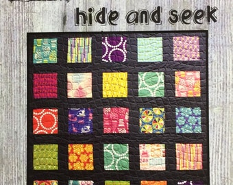 Hide And Seek Quilt Pattern from Villa Rosa Designs