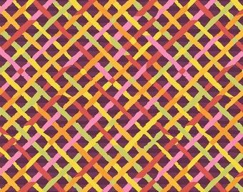 Kaffe Fassett - Mad Plaid - Maroon - PWBM037.MAROO - Fabric - Sold by the Half Yard