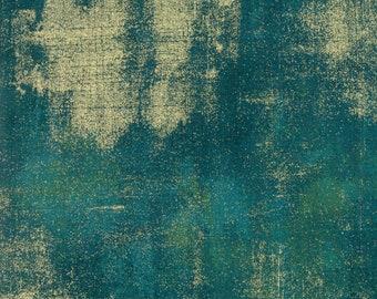 Grunge Metallic - Dark Jade - 30150 229M - Moda - Fabric - Sold by the Half Yard