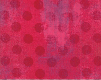 Grunge - Hits The Spot - Raspberry 30149 23 - Moda - Fabric - BTY, HY & FQ