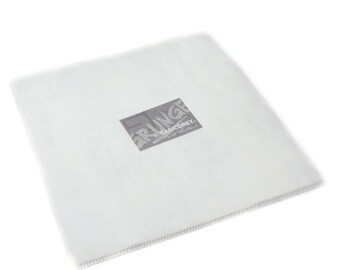 "Grunge Junior Layer Cake - White - 20 pc - 10"" X 10"" Squares - 30150JLC 101 - Moda - Fabric"