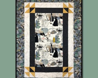 Fernanda Quilt Pattern by Villa Rosa Designs - Uses a Panel