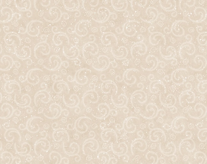 I Love Sn'Gnomies - Flannel - Beige - F9638-33 - Shelly Comiskey - Henry Glass - Fabric - Sold by the Half Yard