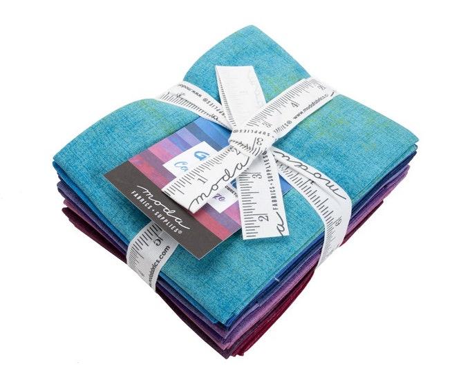 Grunge Fat Quarter Bundle - Cool - 10 pc Bundle - 30150ABCC - Moda - Fabric