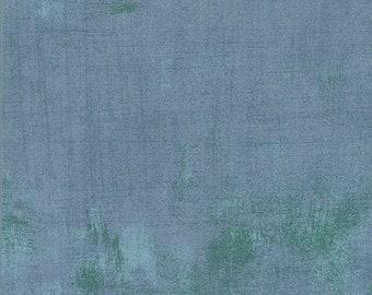 "108"" Quilt Backing - Grunge - Smoke - 11108 400 - Moda - Fabric - BTY"