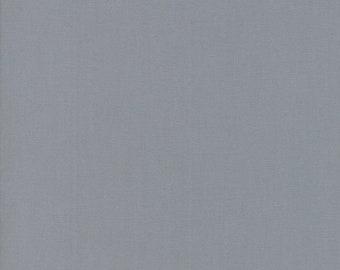 Steel - Bella Solids - 9900 184 - Moda - Fabric - Sold by the Half Yard