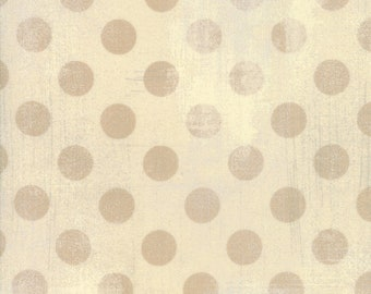 """108"""" Quilt Backing - Grunge - Hits The Spot - Manilla - 11131 17 - Moda - Fabric - BTY"""