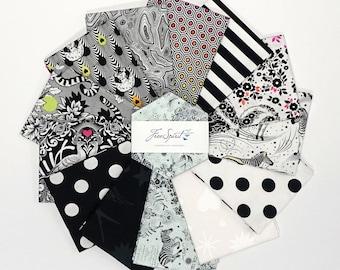 Hexagon Pack - Linework - 42 pc. per pack - Tula Pink - FB6HXTP.LINEWORK - Fabric