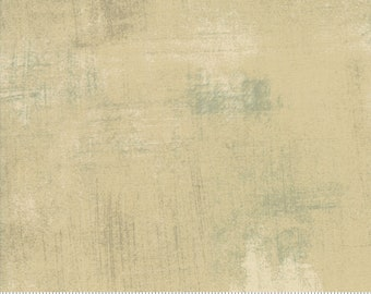 "108"" Quilt Backing - Grunge - Tan - 11108 162 - Moda - Fabric - BTY"