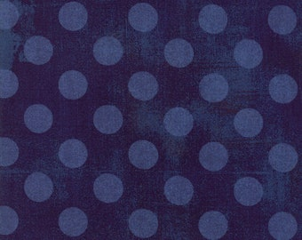 "108"" Quilt Backing - Grunge - Hits The Spot - Eggplant - 11131 25 - Moda - Fabric - BTY"
