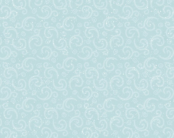 I Love Sn'Gnomies - Flannel - Aqua - F9638-11 - Shelly Comiskey - Henry Glass - Fabric - Sold by the Half Yard