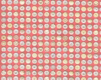 Flea Market Mix - Rhubarb Cream - 7356 23D - Moda - Fabric - BTY, HY & FQ