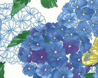 Cottage Bleu - Cream - 48690 11 - Moda - Fabric - Sold by the Half Yard