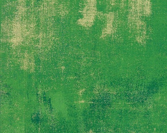 Grunge Metallic - Fern - 30150 339M - Moda - Fabric - Sold by the Half Yard
