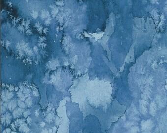 Moody Bloom Digital - Indigo - 8433 26D - Moda - Fabric - BTY, HY & FQ