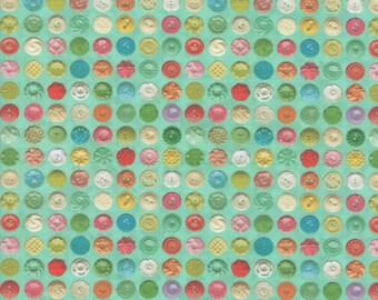 Flea Market Mix - Patina - 7356 15D - Moda - Fabric - Sold by the Half Yard