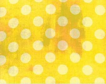 Grunge - Hits The Spot - New Sunflower - 30149 38 - Moda - Fabric - Sold by the Half Yard