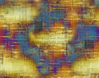 Abandoned - Portland Street - Patina - PWTH131.PATINA - Tim Holtz - Fabric - Sold by the Half Yard