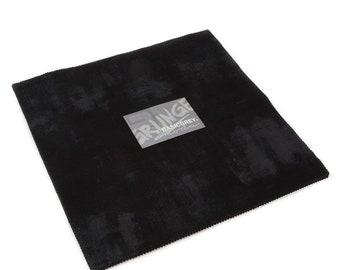 "Grunge Junior Layer Cake - Onyx - 20 pc - 10"" X 10"" - 30150JLC 99 - Moda - Fabric"