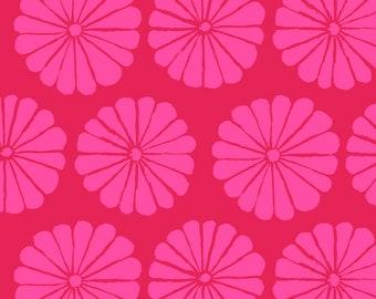 Kaffe Fassett - February 2021 - Damask Flower - Magenta - PWGP183.MAGENTA - Fabric - Sold by the Half Yard