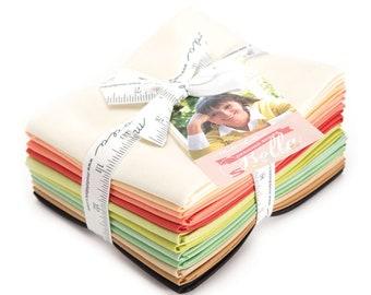 12 Designer Select Bella Bundle - Fig Tree Quilts - 12 pc. Fat Quarter Bundle - 9900ABFT - Moda - Fabric