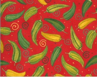 Homegrown Salsa - Tomato - 19971 13 -  Moda - Fabric - BTY, HY & FQ