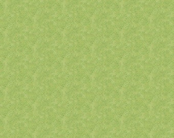 Shimmer Morning Glory - Sand - Light Green - 23388M-74 - Northcott - Fabric - BTY, HY & FQ
