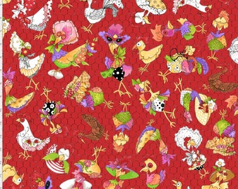Coopers - Red - 692-226 - Loralie Designs - Fabric - BTY, HY & FQ