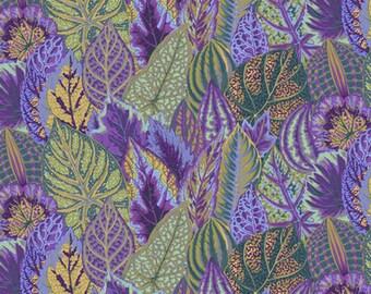 Kaffe Fassett - Coleus - Lavender - PWPJ030.LAVEN - Fabric - By the Yard, Half Yard & Fat Quarter