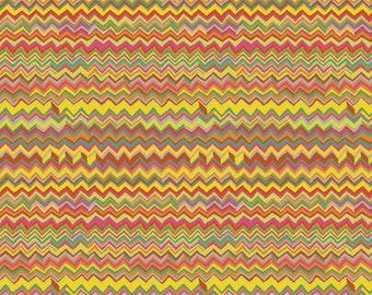 Kaffe Fassett - Zig Zag - Bright - PWBM043.BRIGH - Fabric - By the Yard, Half Yard & Fat Quarter