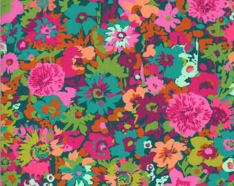Kasada Flower Field - Teal - 11861 13 - Moda - Fabric - BTY, HY & FQ
