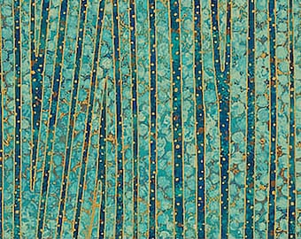 Lagoon - 22996M 63 - New Shimmer - Northcott - Fabric - Sold by the Half Yard