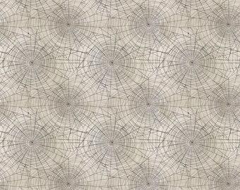Cobwebs - Neutral - Regions Beyond - PWTH150.NEUTRAL - Tim Holtz - Fabric - Sold by the Half Yard