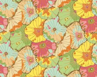 "108"" Quilt Backing Fabric - Lotus Leaf - Jade - February 2021 - QBGP007.JADE - Kaffe Fassett - BTY"