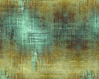 Abandoned 2 - Piano Sorte - Patina - PWTH138.PATINA - Tim Holtz - Fabric - Sold by the Half Yard